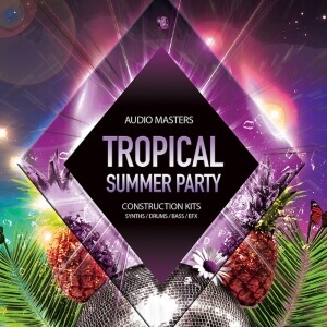 Tropical Summer Party - Artwork