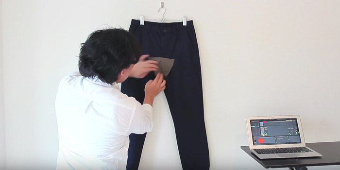 Wearable Pants MIDI Controller