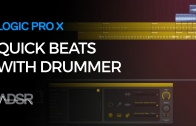 Building Quick Beats with Drummer – Logic Pro X
