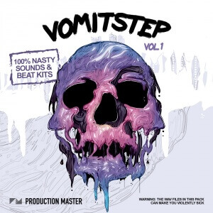 Production Master Vomitstep Pack vol. 1 - ARTWORK 1000 x 1000