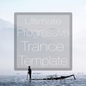 Ultimate Progressive Trance Template - Artwork