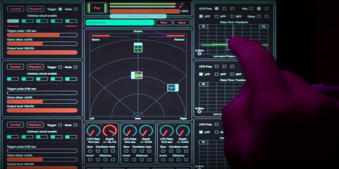 Soundscraper: An Experimental Sound Mini Lab