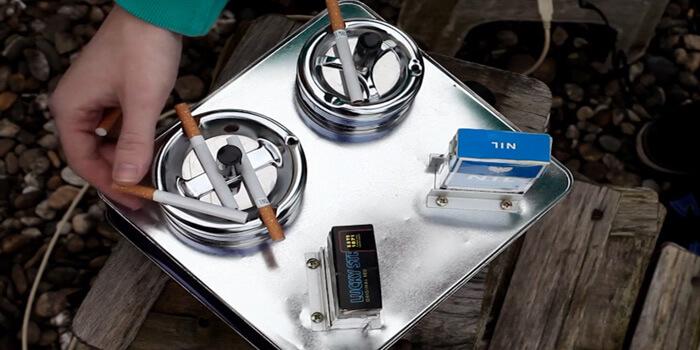 Ziggybox Uses Cigarettes To Create Music