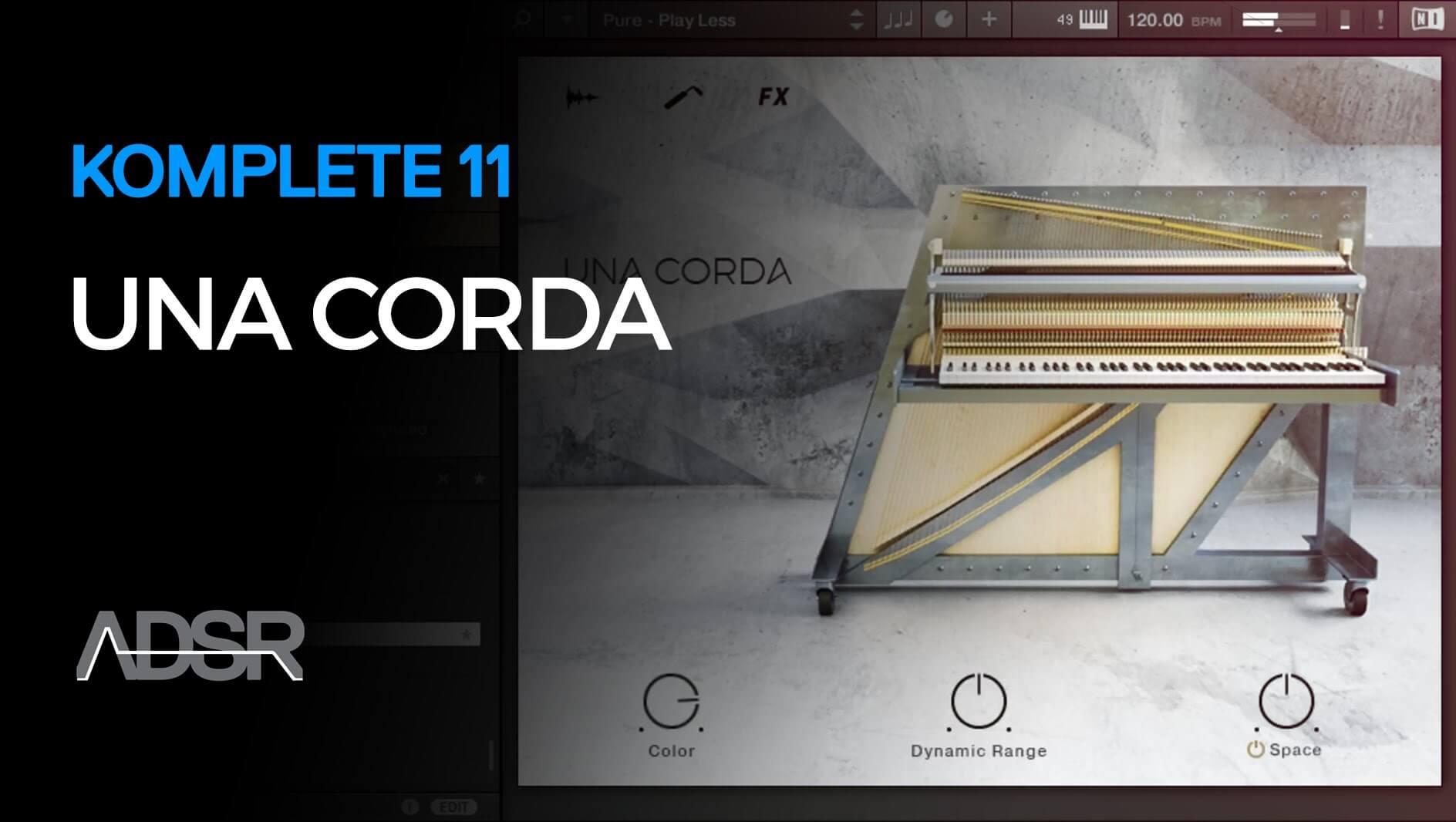 Una Corda – Komplete 11