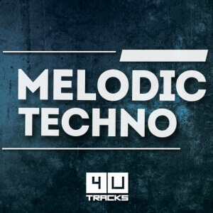 COVER MELODIC TECHNO - 4UTRACKS
