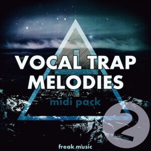 Vocal Trap Melodies Vol 2 - Artwork