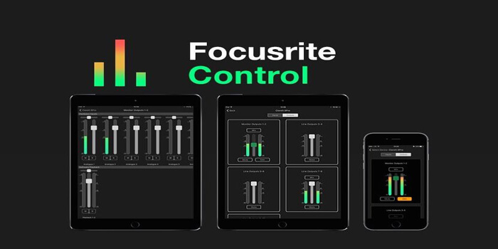 Focusrite Launches Free iOS App For Your Interface
