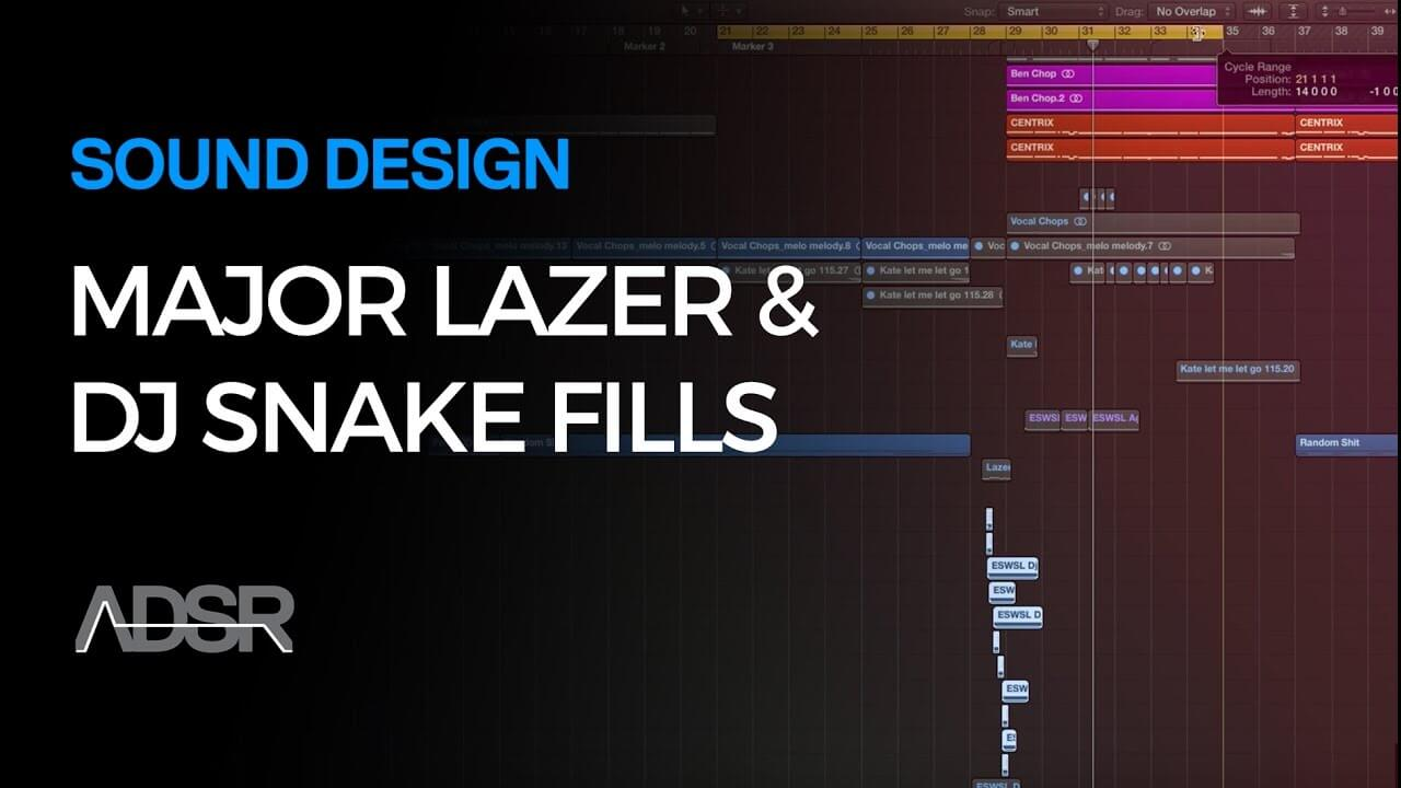 How To Make Major Lazer, Jack Ü and DJ Snake Style Drum Fills