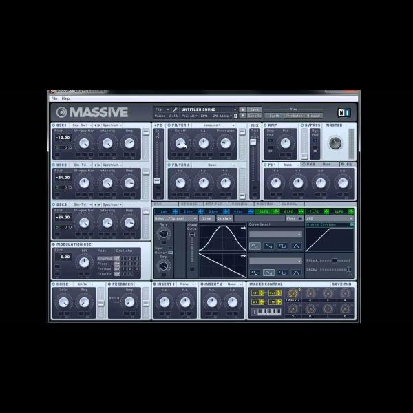 How to Make a Stevie Wonder Moog Bass with NI Massive – ADSR