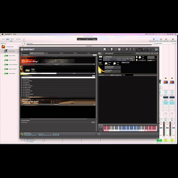 Reduce CPU Load When Using Kontakt Inside Apple MainStage By Using