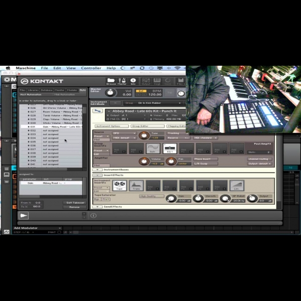 Using Kontakt Abbey Road Drum Kits with Maschine – ADSR