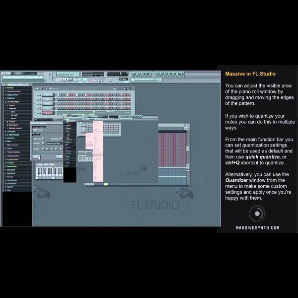 Using NI Massive With FL Studio – ADSR