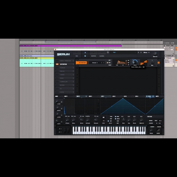 How to make a thick ACID 303 sound with serum – ADSR