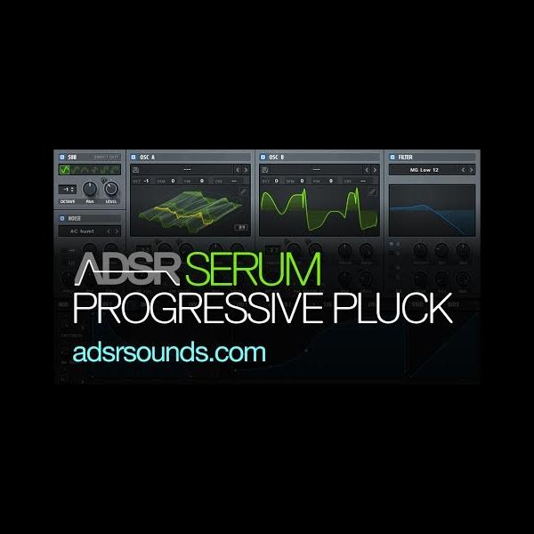 Progressive House Pluck With Serum – ADSR