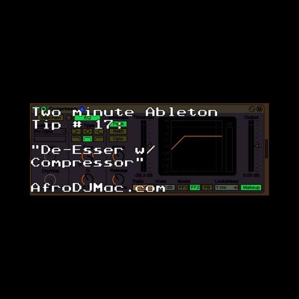 De-esser in Ableton Live – ADSR