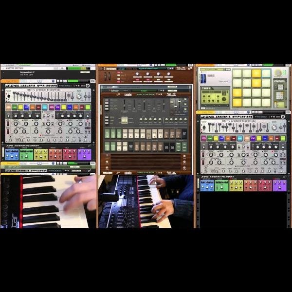 Oxygene IV Recreated with JPS Harmonic Synthesizer – ADSR