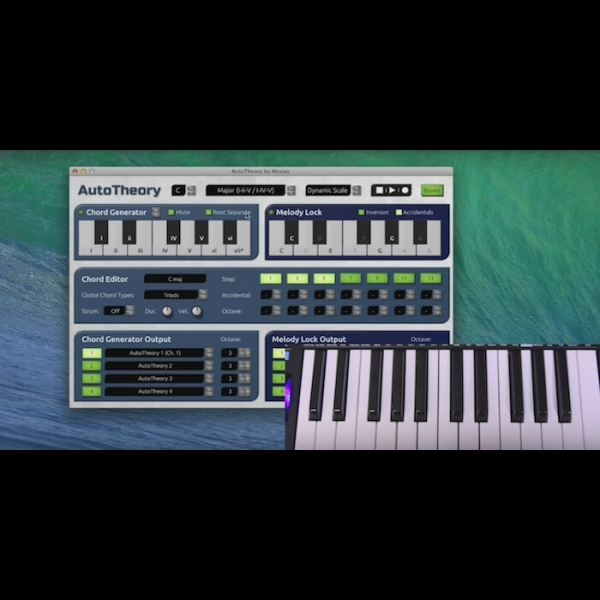 AutoTheory: Chord & Melody MIDI Mapping Application – ADSR