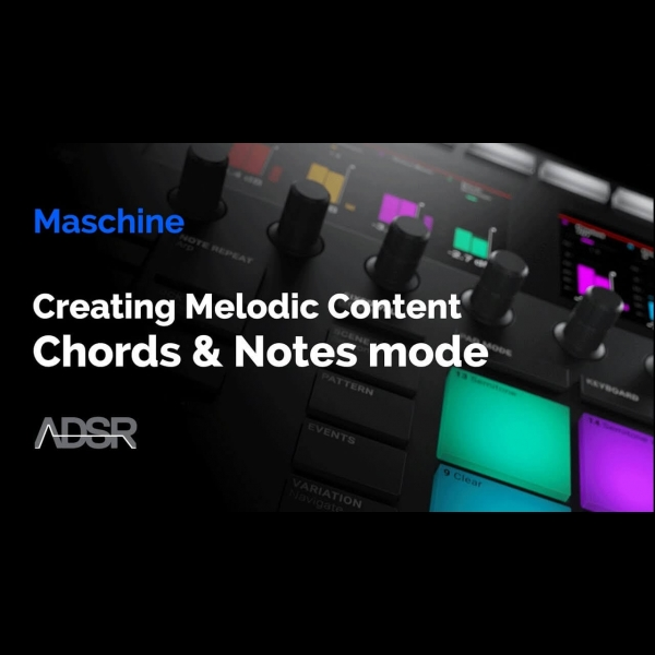 Maschine Mk3 Creating Melodic Content With The Chords Notes