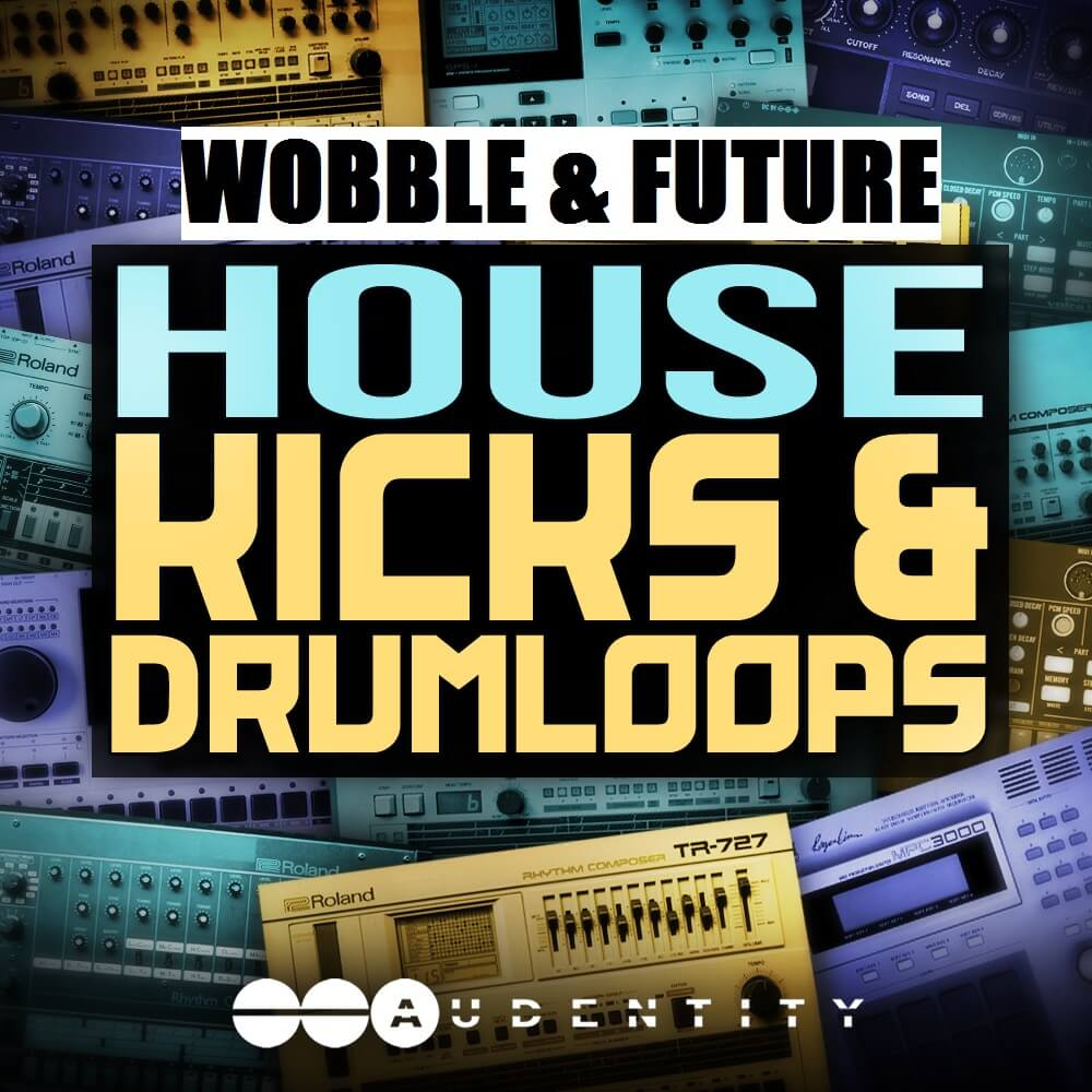 Audentity - Wobble Future House Kicks & Drumloops