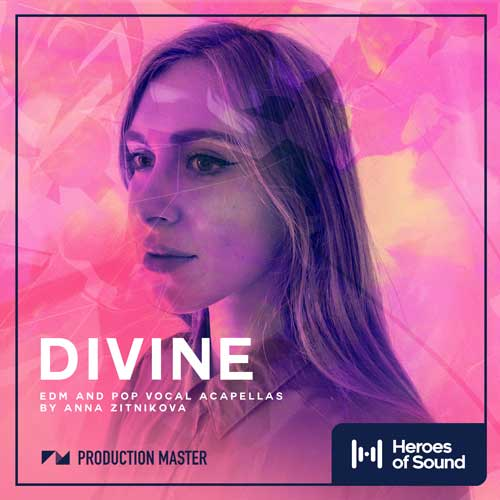Divine - EDM and Pop Vocal Acapella