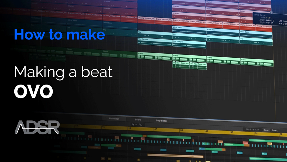 How to make RnB/Rap Beats OVO Style