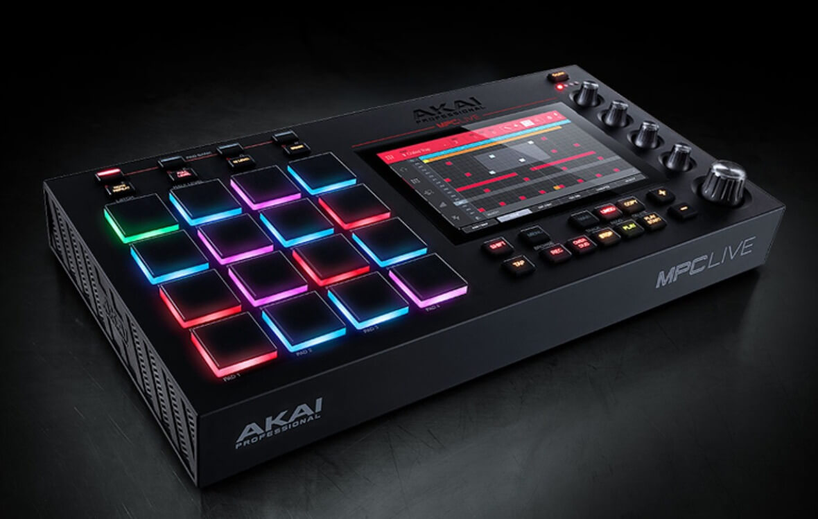 Akai Pro Releases Firmware Updates For MPC X, MPC Live and Force