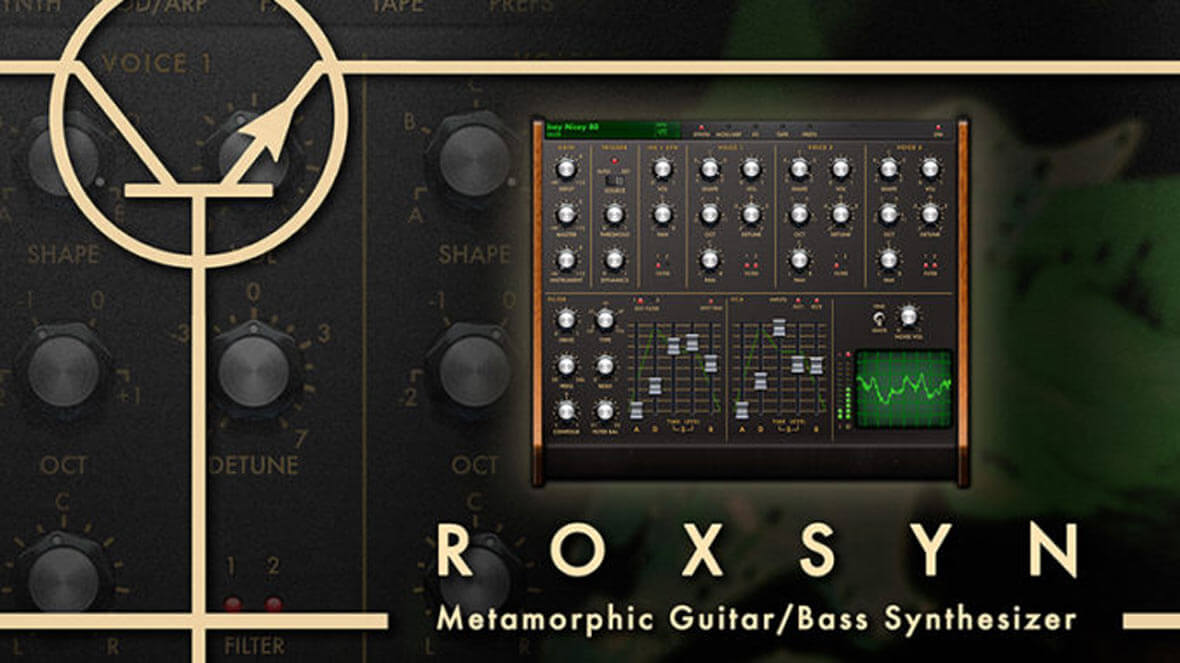 Roxsyn, iOS App, Turns Your Guitar Signal Into A Polyphonic Synthesizer