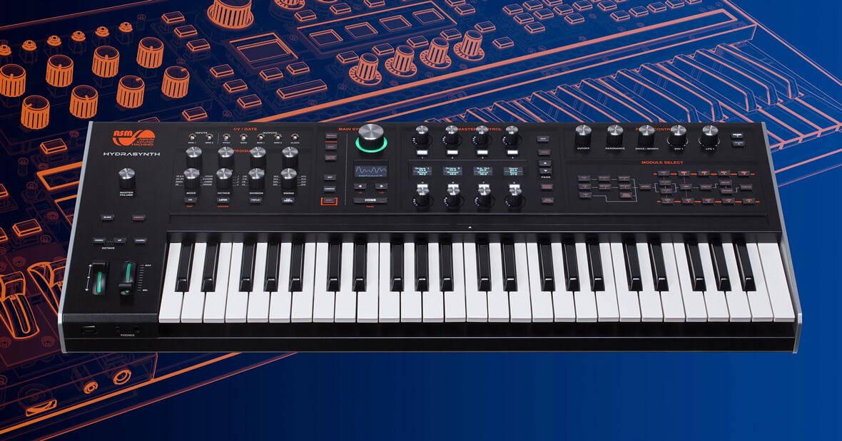 The Hydrasynth, Polytouch Wavetable Synthesizer, Is Now Available