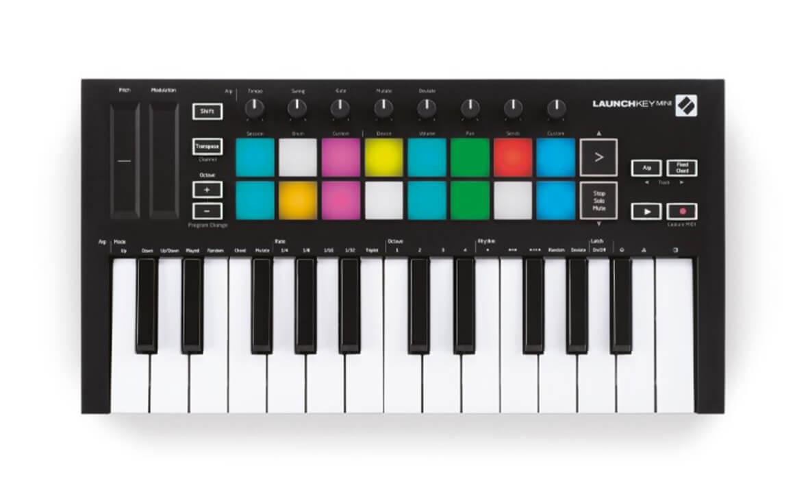 Novation's New Launchkey Mini Includes An Arpeggiator, Fixed Chord Mode and More