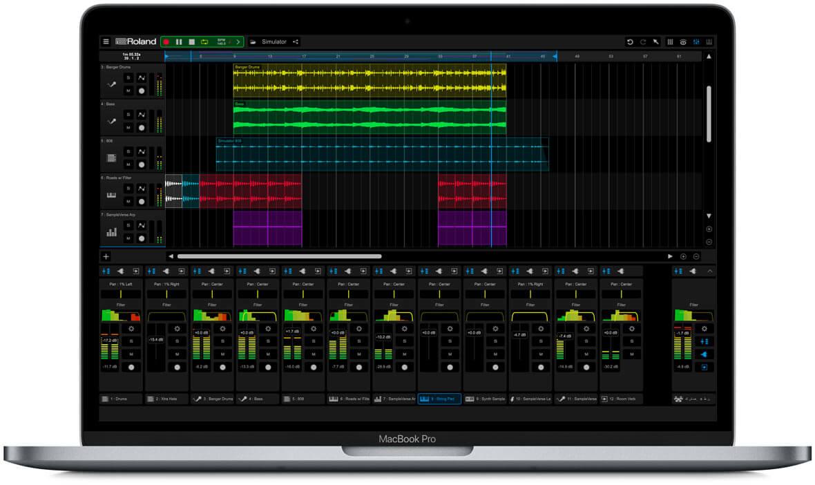 Roland Releases Cross-Platform Music Creation App, Zenbeats