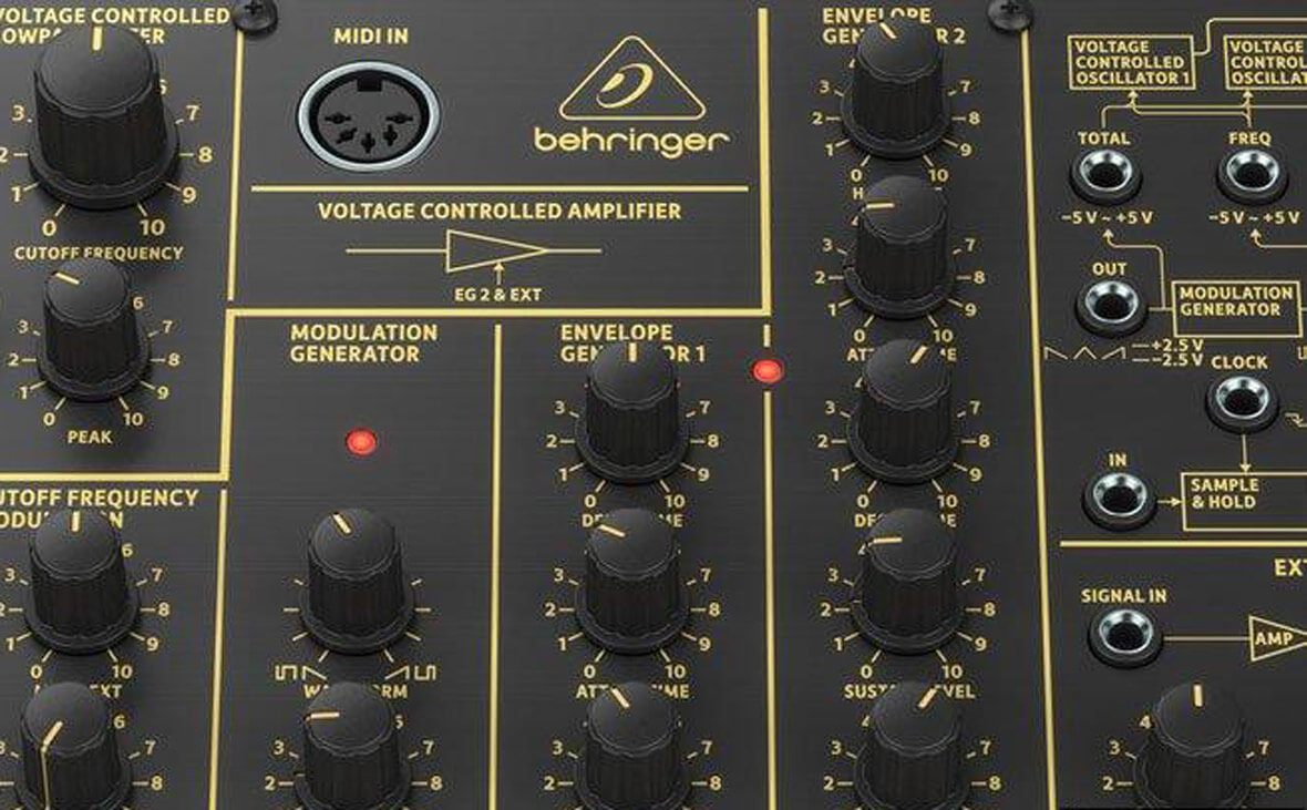 Behringer Introduces The K-2 Synthesizer, Korg MS-20 Clone
