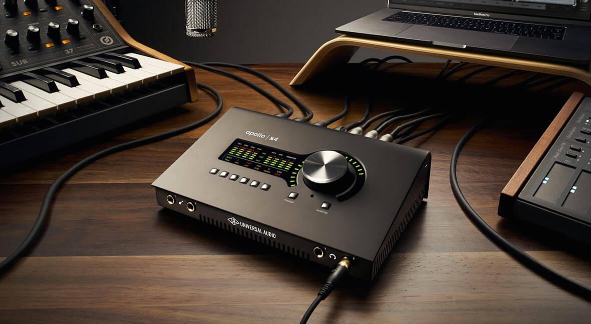 Universal Audio Releases New Apollo x4 Thunderbolt 3 Audio Interface